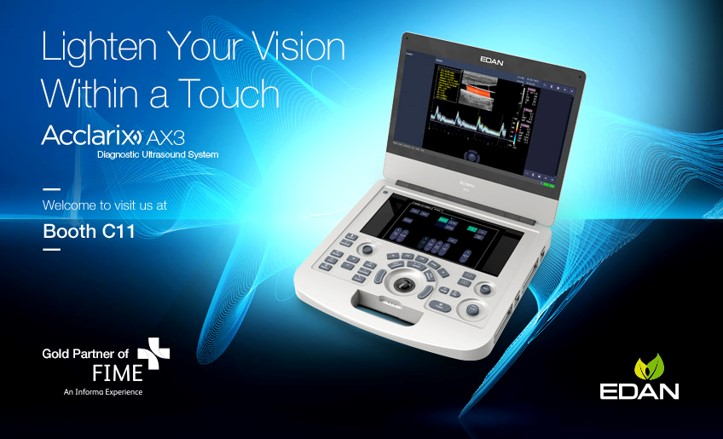 Acclarix AX3 - Lighten Your Vision Within a Touch - EDAN